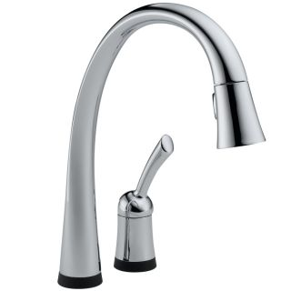 Delta Pilar Touch2O Chrome 1 Handle Pull Down Touch Kitchen Faucet