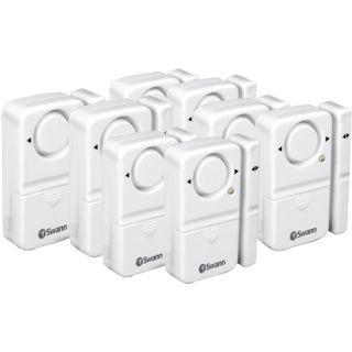 SWANN SWHOM MDAPK8 GL Complete Window Magnetic Alarm Kit (8 pk)