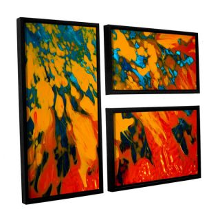 ArtWall Byron May Out From The Depth 2 Piece Floater Framed Canvas
