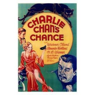 Charlie Chan's Chance Movie Poster (11 x 17)