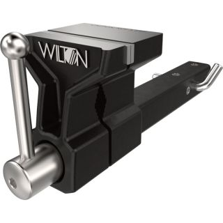 Wilton ATV All-Terrain Truck Vise — Fits 2in. Hitch Receiver, 5in.W, Model# 10025  Bench Vises