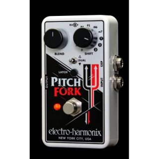 Electro Harmonix Pitch Fork Polyphonic Pitch Shifter Pedal with Power Supply Part Number: FORK