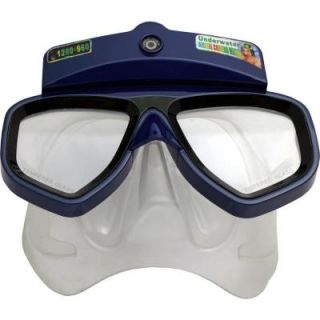 Dive Mask and Snorkel Kit with Underwater Camera IDIVE