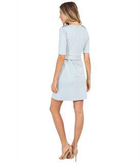 Donna Morgan Short Sleeve Ponte Shift Dress