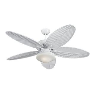 Monte Carlo Fans 5CU52WH Cruise 52 Wet Rated Outdoor Fan in White