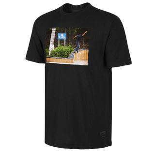 Nike SB Dri FIT Icon Logo T Shirt   Mens   Skate   Clothing   Tumbled Grey/Univ Orange/Cinnabar