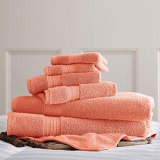 650 GSM Luxury Spa Collection 100 percent Cotton 6 piece Towel Set