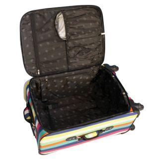Jenni Chan Multi Stripes 360 Quattro 5 Piece Luggage Set
