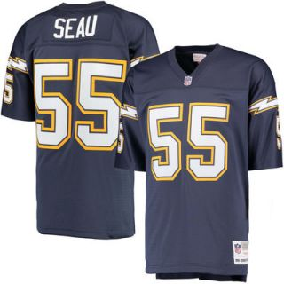 Junior Seau San Diego Chargers Mitchell & Ness Replica Retired Player Jersey   Navy