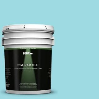 BEHR MARQUEE 5 gal. #P470 2 Serene Thought Semi Gloss Enamel Exterior Paint 545005