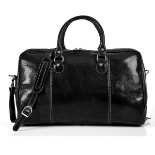 Perugia 18.5 Italian Leather Weekender Duffel by Tony Perotti