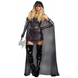 The Assasin Costume Dreamgirl 9873 Black