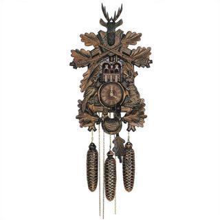 Traditional 8 Day Movement Musical Cuckoo Wall Clock