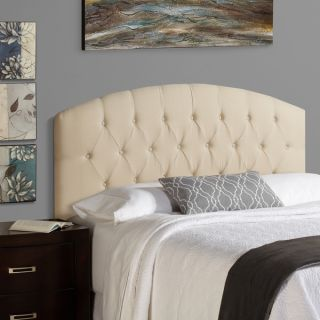 Humble + Haute Halifax Full Size Ivory 100 percent Linen Curved
