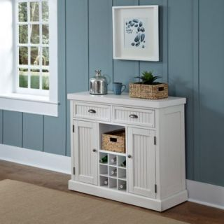 Home Styles Nantucket Buffet, Distressed White