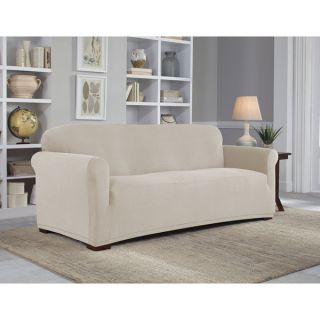 Tailor Fit Stretch Grid Sofa Slipcover   17966978
