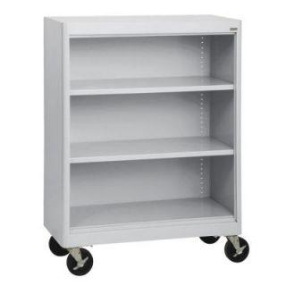 Sandusky Radius Edge 3 Shelf Steel Mobile Bookcase BM2R361842 05