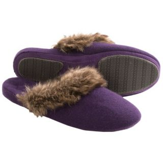Acorn Cashmere Mule Slippers (For Women) 9494T 83