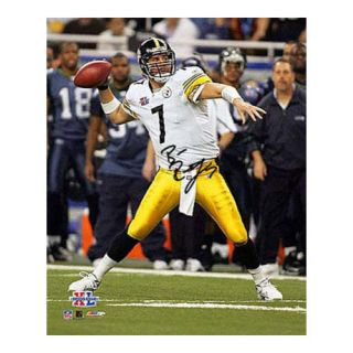 NFL - Ben Roethlisberger Pittsburgh Steelers - Super Bowl XL Action - 16x20 Autographed Photograph
