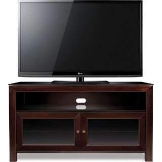 Classic Flame WMFC503 Bell O 50 Wood TV Stand A V Cabinet in Deep Mahogany   No Tools Assembly