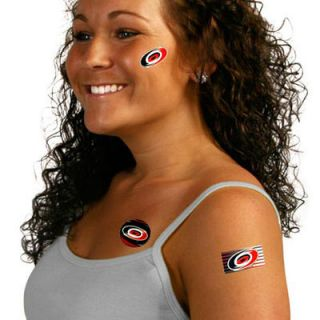 Carolina Hurricanes Temporary Tattoos