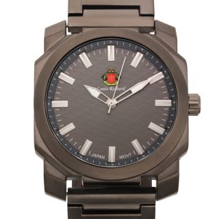 Louis Richard Buchanan Mens Watch    Bold, Thick Brushed Finish IP