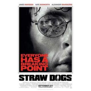 Straw Dogs Movie Poster (11 x 17)