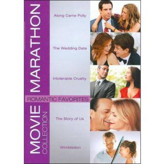 Movie Marathon Collection: Romantic Favorites   Along Came Polly / The Wedding Date / Intolerable Cruelty / The Story Of Us / Wimbledon (Widescreen)