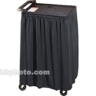 Draper Skirt for Mobile AV Carts/Tables   50 x C168.205