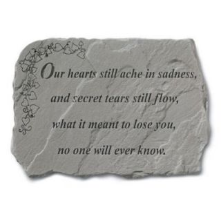 Our Hearts Still Ache Memorial Stone