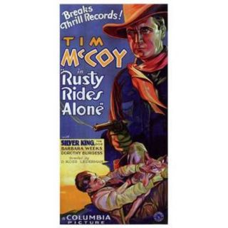 Rusty Rides Alone Movie Poster (11 x 17)