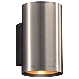 PLC Lighting 2092BA Marco 8 3 4 1 Light Outdoor Wall Mount in Brushed Aluminum