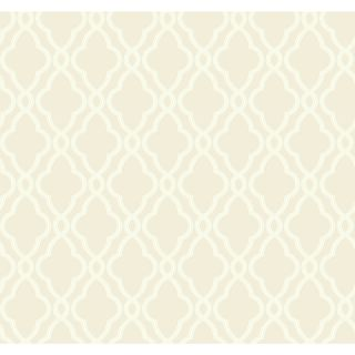 Waverly Hampton 27 x 27 Trellis Wallpaper by York Wallcoverings