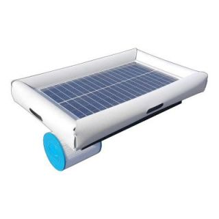 Natural Current Savior 5,000 gal. Solar Powered Pool Pump with Floating Cartridge Filter System for In ground and Above Ground Pools NCSF5K
