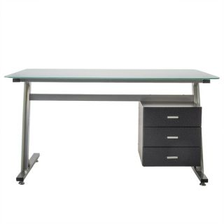Christopher Knight Home Beta Computer Desk with Filing Cabinet