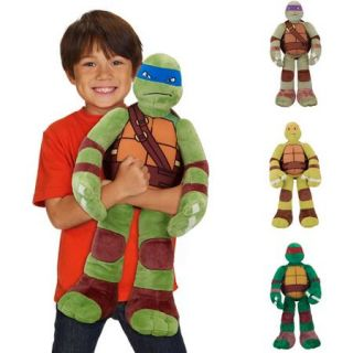 "Nickelodeon Teenage Mutant Ninja Turtles 24"" Plush, in characters Leo, Don, Mike, or Ralph"