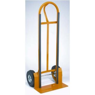 Wesco Industrial 51.5 x 22 x 18 Wide Plate Economy Hand Truck