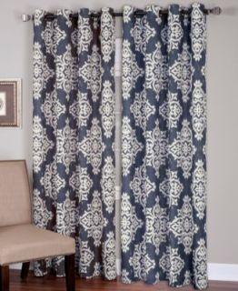 Park B. Smith Pair of Paris Postage 60 x 36 Cafe Curtains
