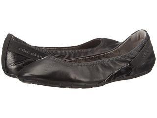 Cole Haan Zerogrand Stagedoor Ballet Black Leather