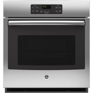 GE Single Electric Wall Oven (Stainless Steel) (Common: 27 in; Actual: 26.718 in)