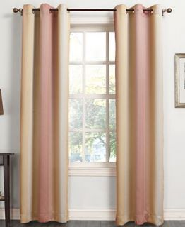 Sun Zero Macey Room Darkening Woven Curtain 40 x 84 Panel
