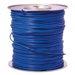 Southwire 1000 ft. 14 Blue Stranded CU GPT Primary Auto Wire 55669424