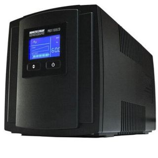 PRO1100LCD Minuteman Minuteman Minuteman PRO1100LCD 1100 VA Line Interactive UPS with 8 Outlets, 760 Joules