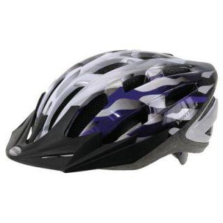 Ventura In Mold Large Bicycle Helmet in Silver/Blue 731431