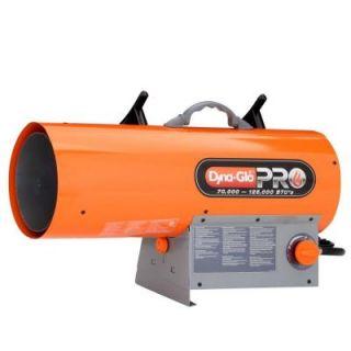Dyna Glo Pro 125K BTU Forced Air LP Gas Portable Heater LPFA125H