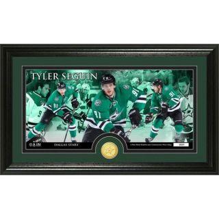 NHL Dallas Stars Tyler Seguin Bronze Coin Panoramic Photo Mint