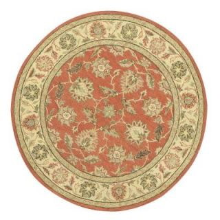 Home Decorators Collection Old London Terra and Ivory 8 ft. Round Area Rug 4561660420