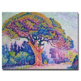 Trademark Fine Art 24 in. x 32 in. The Pine Tree at St.Tropez, 1909 Canvas Art BL0272 C2432GG