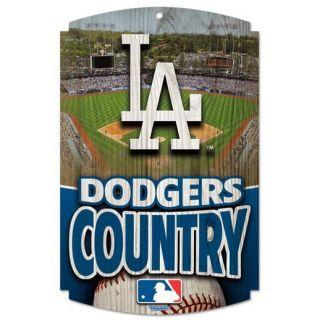 L.A. Dodgers 11 x 17 Wood Sign