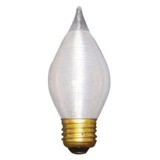 Bulbrite 40 Watt Incandescent Torpedo/C15 Light Bulb (10 Pack) 431040